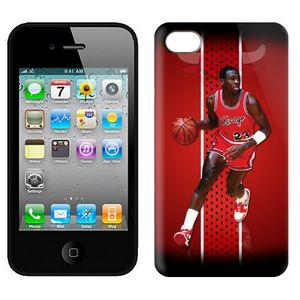NBA Bulls jordan 23 Iphone 4-4s Case-1