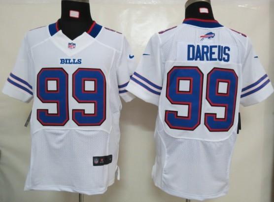 NIKE Bills 99 DAREUS white ELITE Jerseys