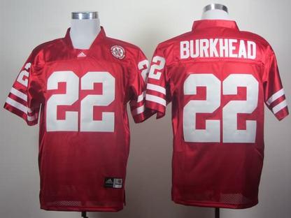 Nebraska Cornhuskers 22 Rex Burkhead Red Jerseys