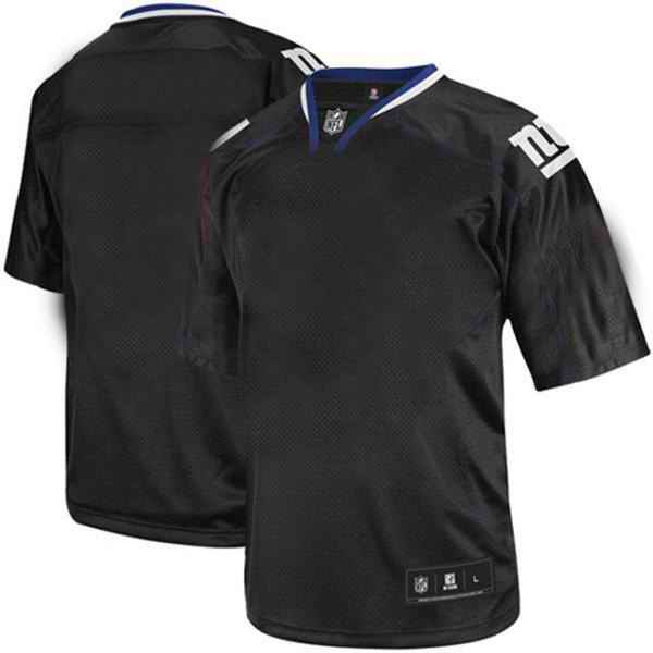 New York Giants Men Customized black field shadow Jersey
