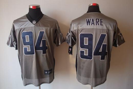 Nike Cowboys 94 Ware Grey Elite Jerseys