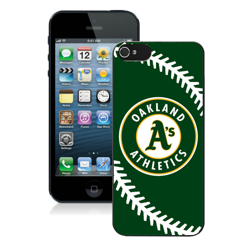 Oakland Athletics-iPhone-5-Case
