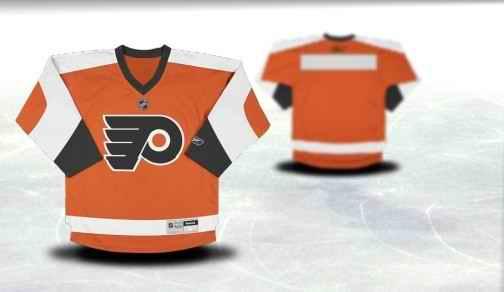 Philadelphia Flyers Youth Customized Orange Jersey