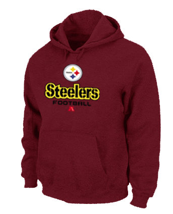 Pittsburgh Steelers Critical Victory Pullover Hoodie RED