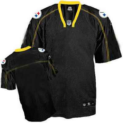 Pittsburgh Steelers Men Customized black field shadow Jersey