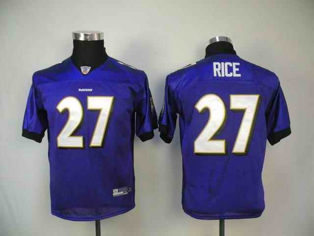 Ravens 27 Ray Rice purple kids Jerseys