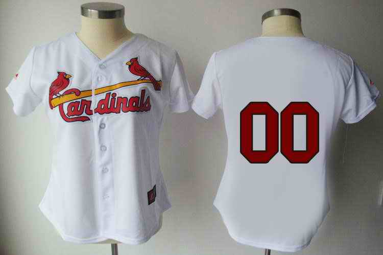 St. Louis Cardinals 4 Molina White Women Custom Jerseys