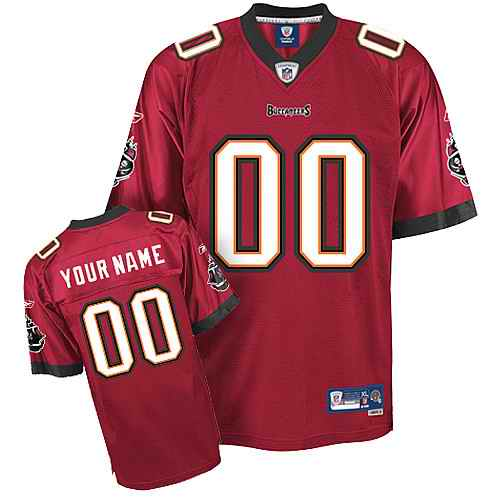 Tampa Bay Buccaneers Men Customized red Jersey