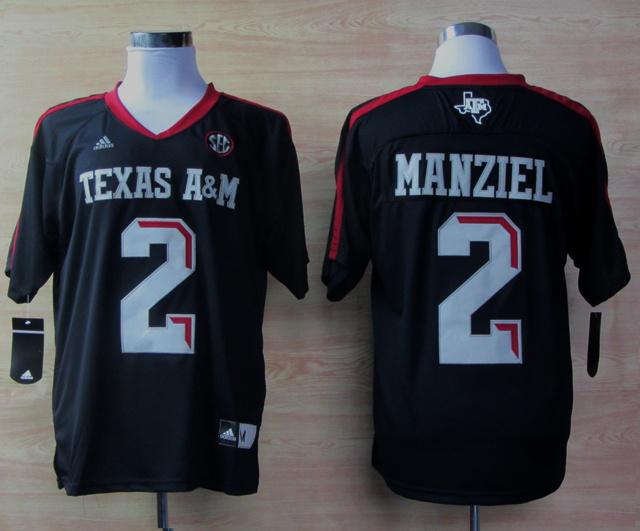 Texas A&M Aggies 2 Johnny Manziel Blue Jerseys