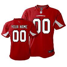 Toddler Nike Arizona Cardinals Customized Game Team Color Jersey