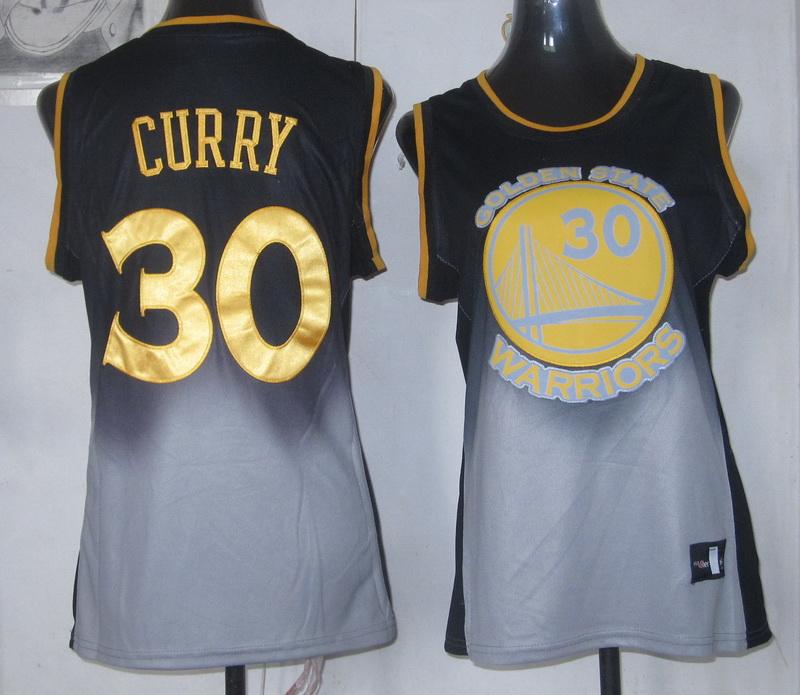Warriors 30 Curry Fadeaway Women Jersey