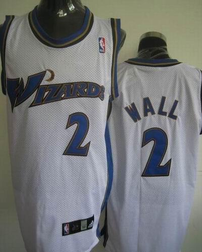 Wizards 2 John Wall White Jerseys
