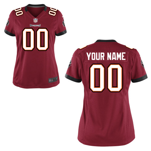 Women's Nike Tampa Bay Buccaneers Customized Game Team Color Jersey