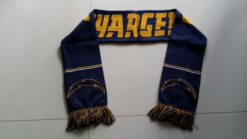 Chargers Navy Blue Fashion Scarf