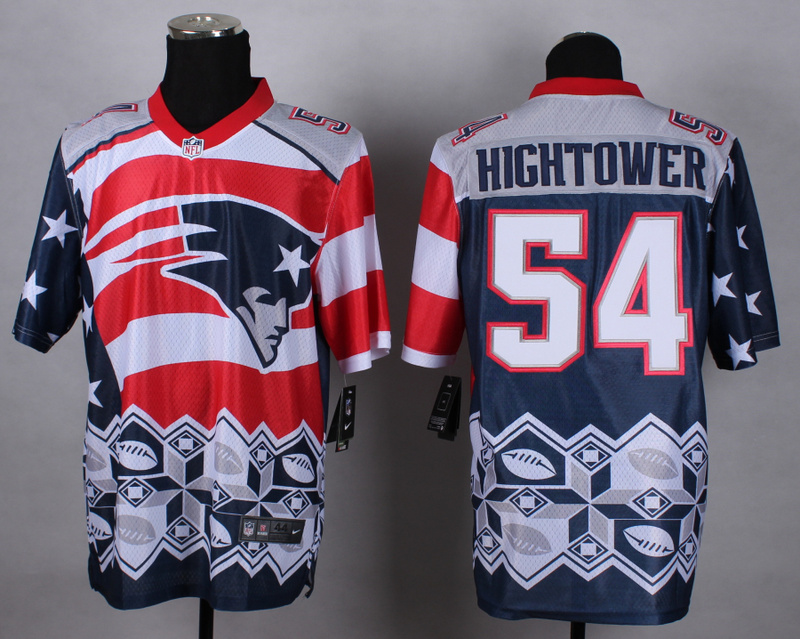 Nike Patriots 54 Hightower Noble Elite Jerseys