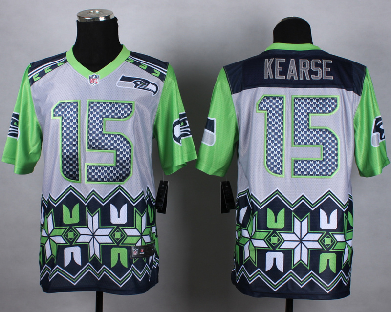 Nike Seahawks 15 Kearse Noble Elite Jerseys