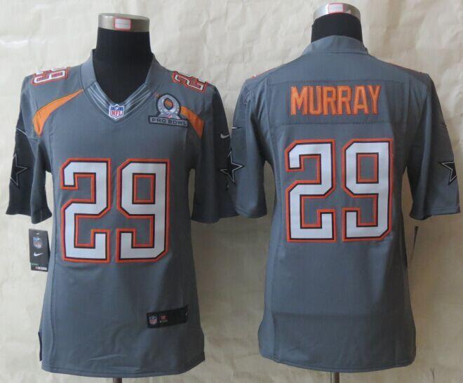 Nike Cowboys 29 Murray Grey 2015 Pro Bowl Game Jerseys