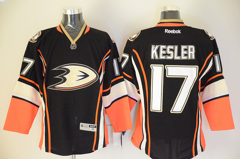 Ducks 17 Kesler Black Jerseys