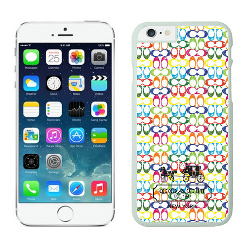 Coach iPhone 6 Cases White