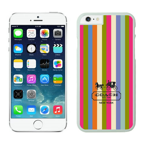 Coach iPhone 6 Cases White03