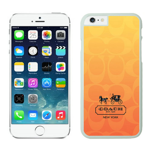 Coach iPhone 6 Cases White04