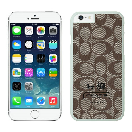 Coach iPhone 6 Cases White05