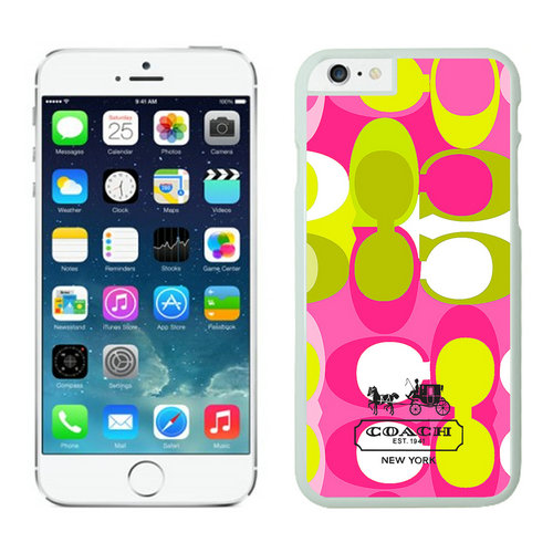 Coach iPhone 6 Cases White06