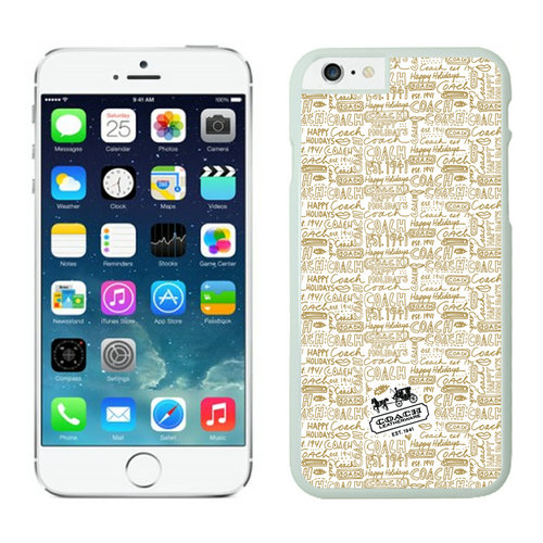Coach iPhone 6 Cases White08