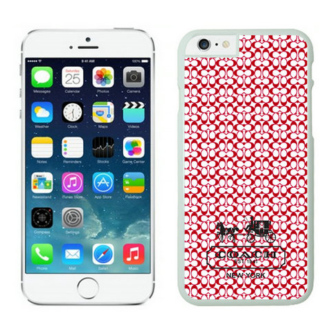Coach iPhone 6 Cases White11