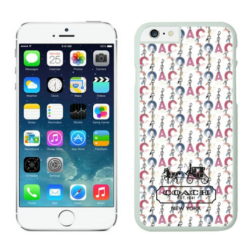Coach iPhone 6 Cases White12