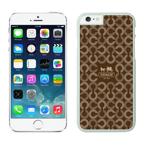 Coach iPhone 6 Cases White21
