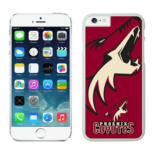 Phoenix Coyotes iPhone 6 Cases White