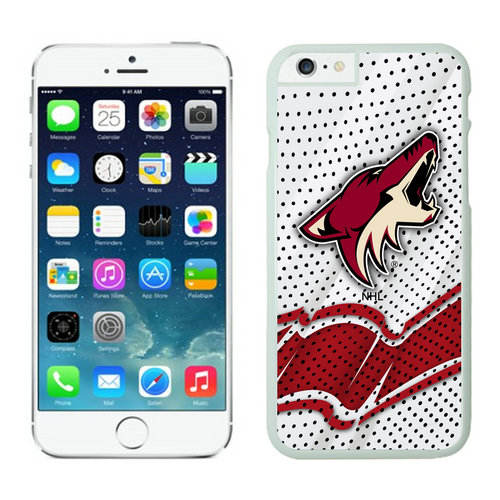 Phoenix Coyotes iPhone 6 Cases White03