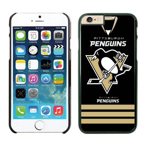 Pittsburgh Penguins iPhone 6 Cases Black