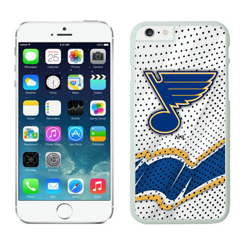 St. Louis Blues iPhone 6 Cases White03