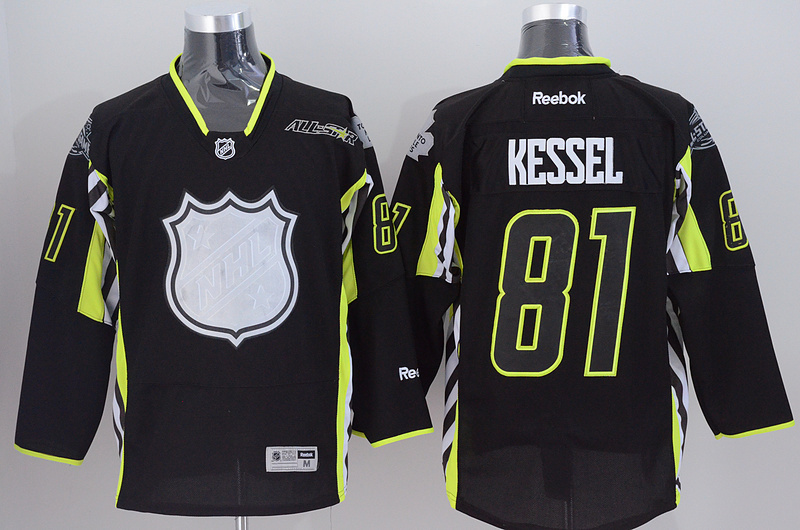 Maple Leafs 81 Kessel Black 2015 All Star Jersey