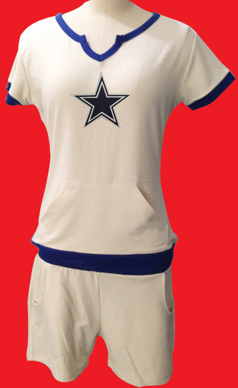 Nike Cowboys White Women Sport Suits