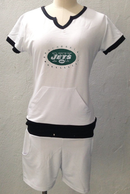 Nike Jets White Women Sport Suits