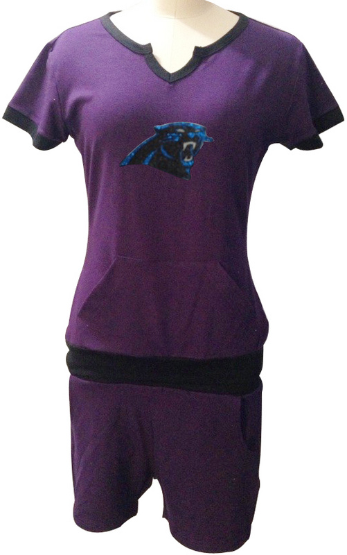 Nike Panthers Purple Women Sport Suits