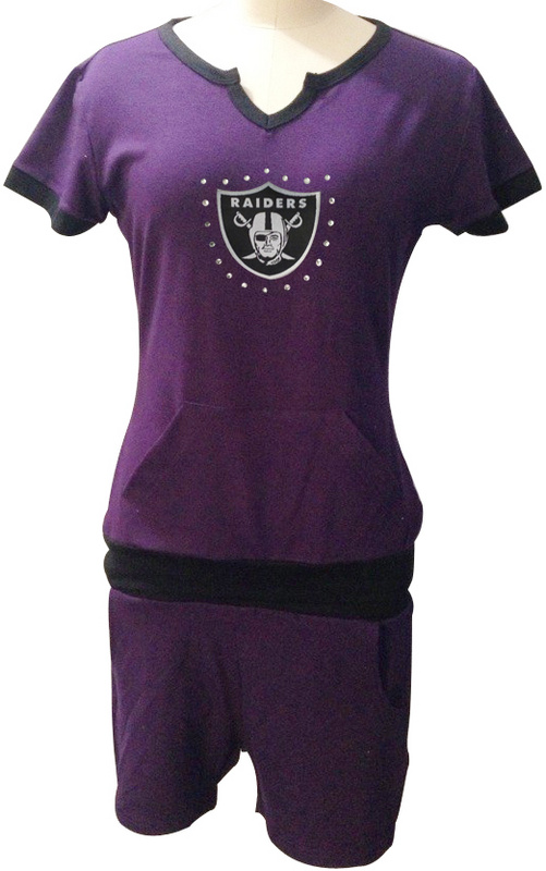 Nike Raiders Purple Women Sport Suits