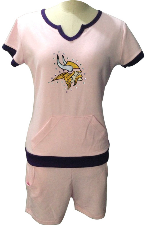 Nike Vikings White Women Sport Suits