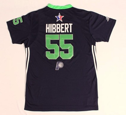 2014 All Star East 55 Hibbert Blue Swingman Jerseys