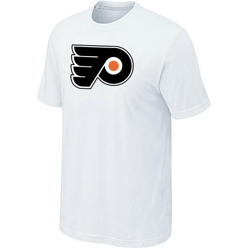 Philadelphia Flyers Big & Tall Logo White T Shirt