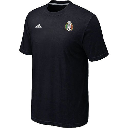 Adidas National Team Mexico Men T-Shirt Black