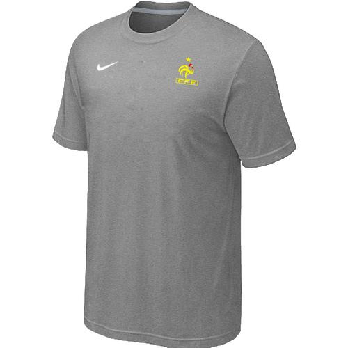 Nike National Team France Men T-Shirt L.Grey