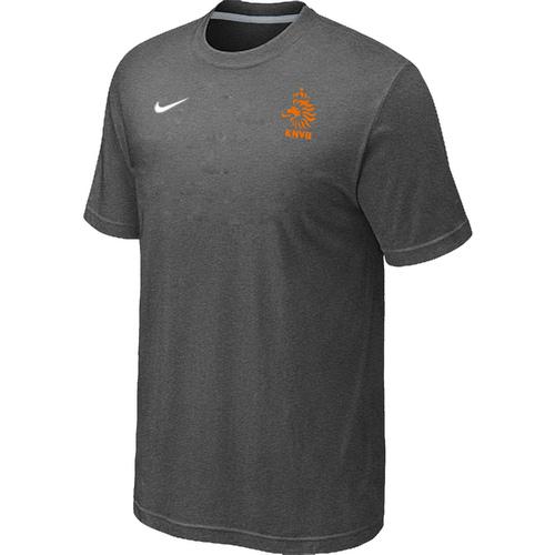 Nike National Team Netherlands Men T-Shirt D.Grey