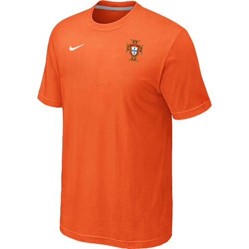 Nike National Team Portugal Men T-Shirt Orange