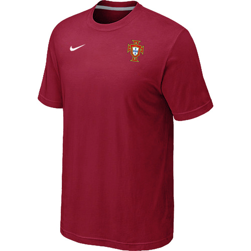 Nike National Team Portugal Men T-Shirt Red