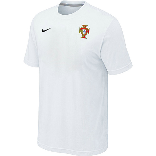 Nike National Team Portugal Men T-Shirt White
