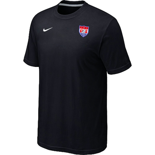 Nike National Team USA Men T-Shirt Black